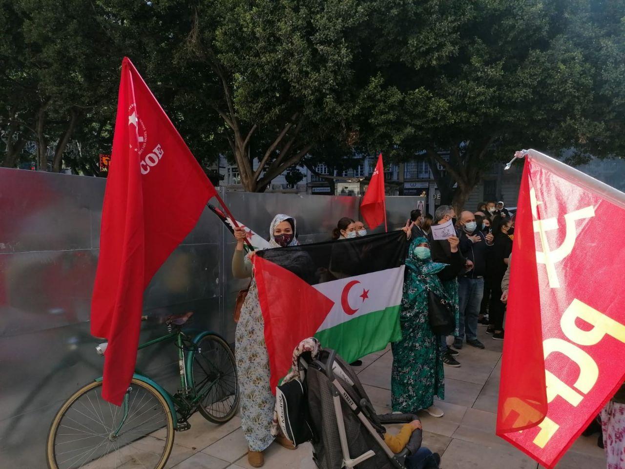 El PCOE en solidaridad con el Sáhara Occidental