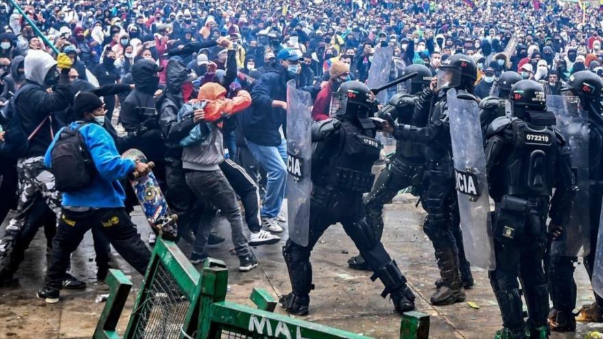 El Estado fascista de Colombia masacra a su pueblo
