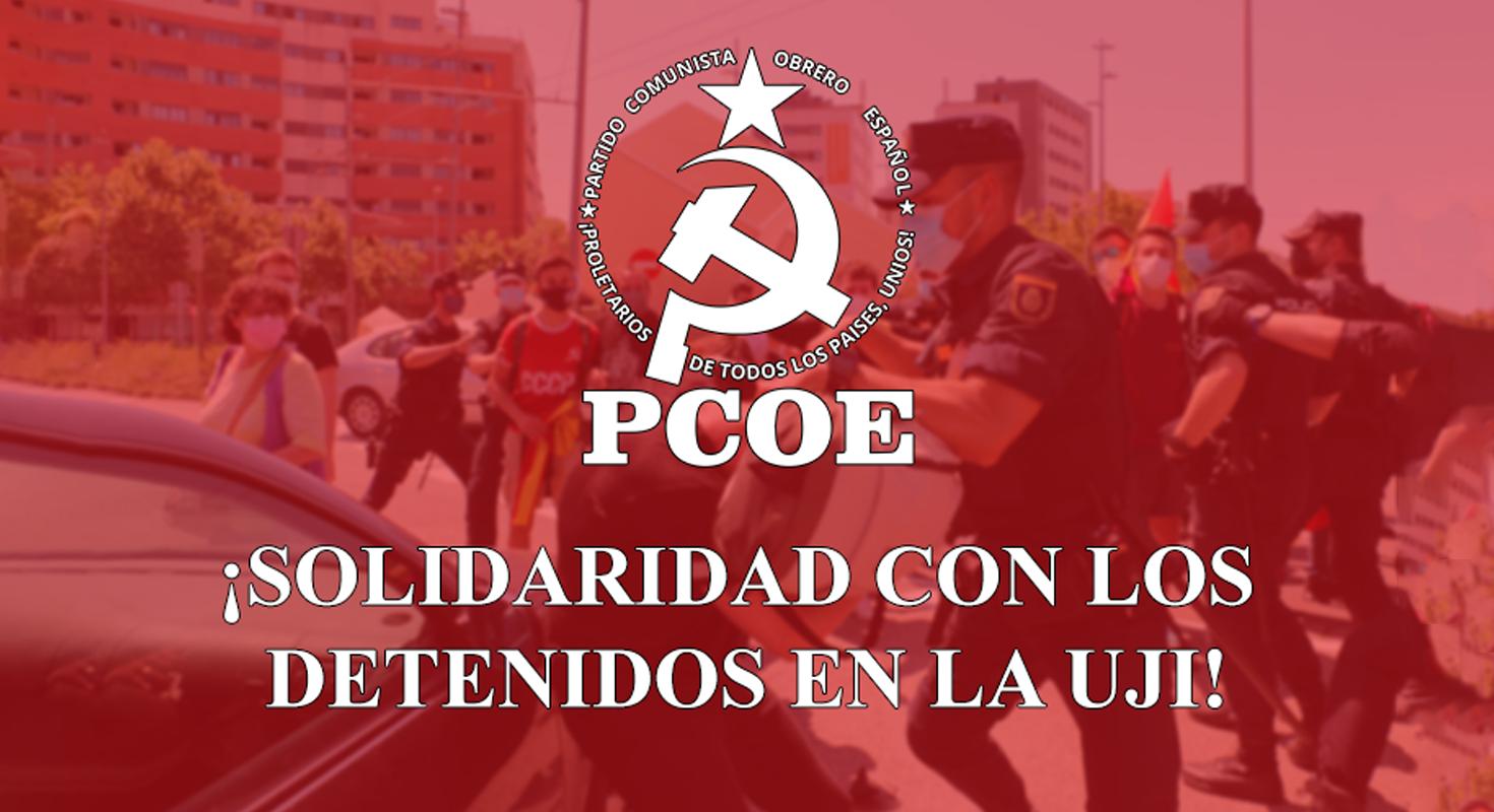 ¡Solidaridad con los detenidos en la UJI!